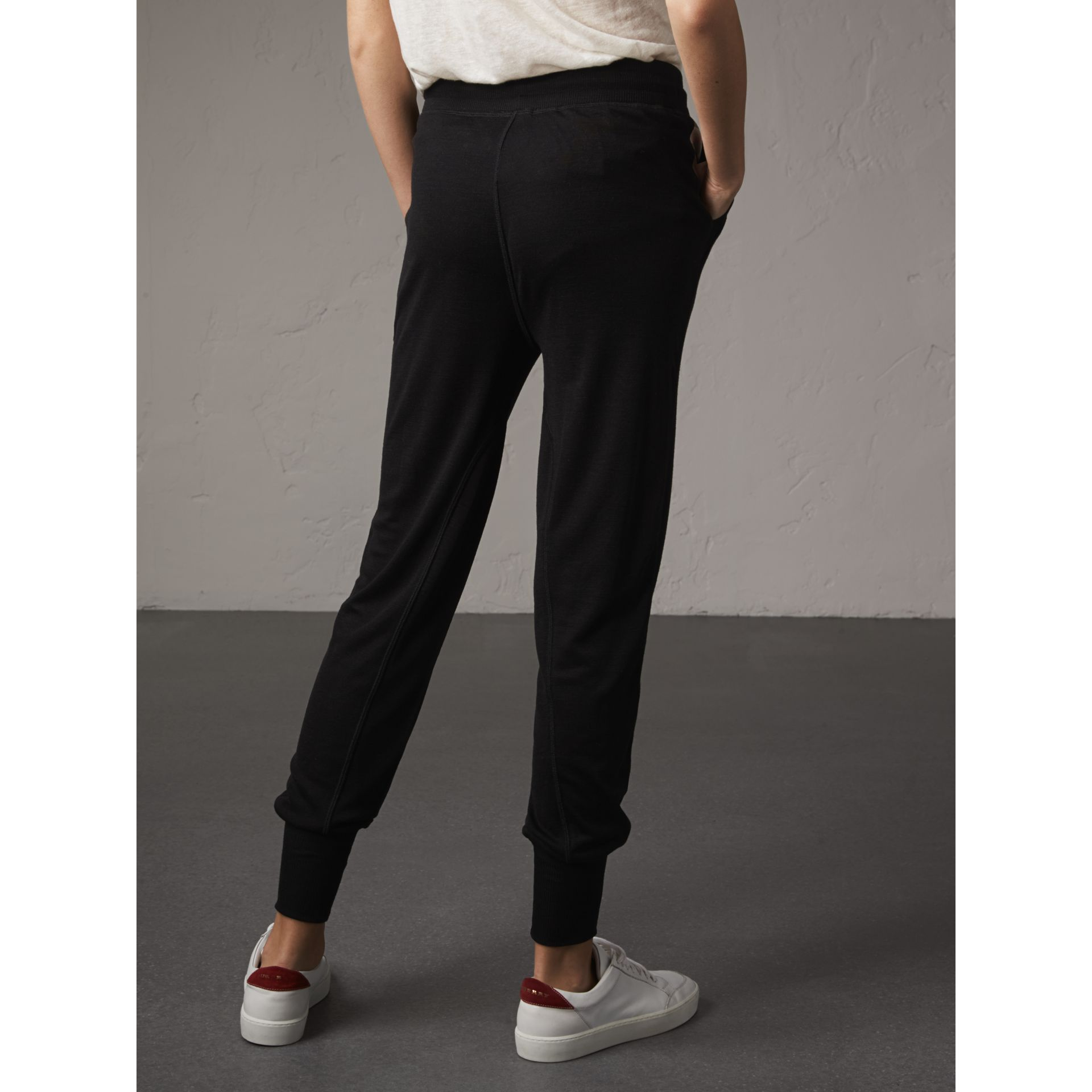 Wool Lyocell Sweatpants - gallery image 3