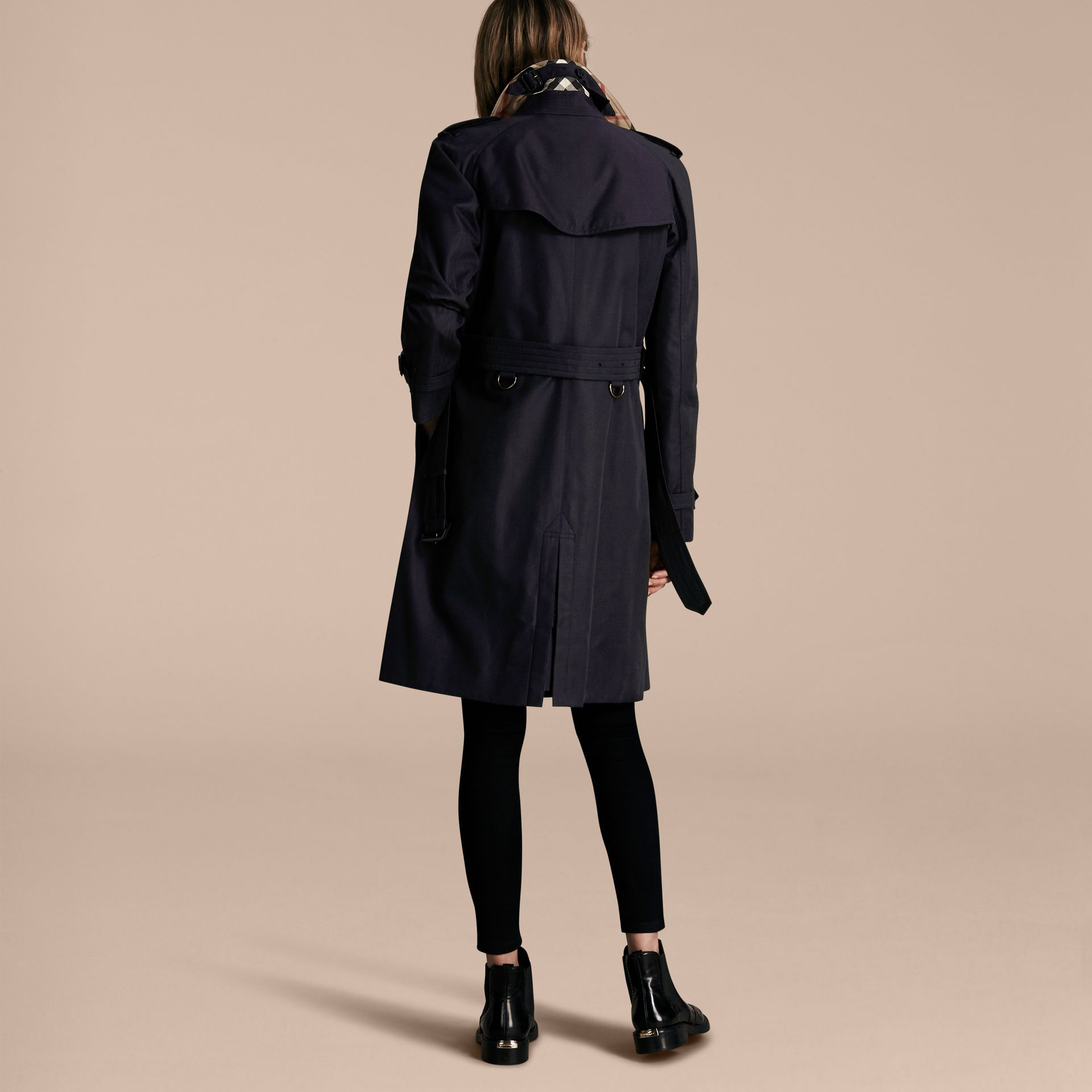 Navy The Westminster – Long Heritage Trench Coat Navy - gallery image 3