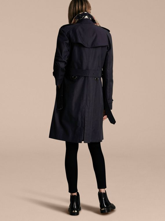 Navy The Westminster – Long Heritage Trench Coat Navy - cell image 2