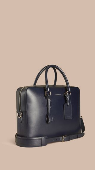 Grand attaché-case en cuir London