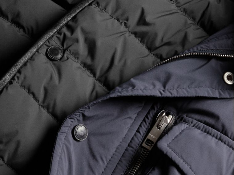Lightweight Field Jacket with Detachable Gilet - Men | Burberry - cell image 1