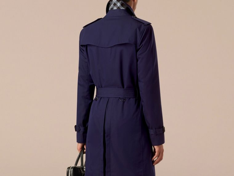 Blueberry The Chelsea – Cotton Gabardine Trench Coat Blueberry - cell image 1