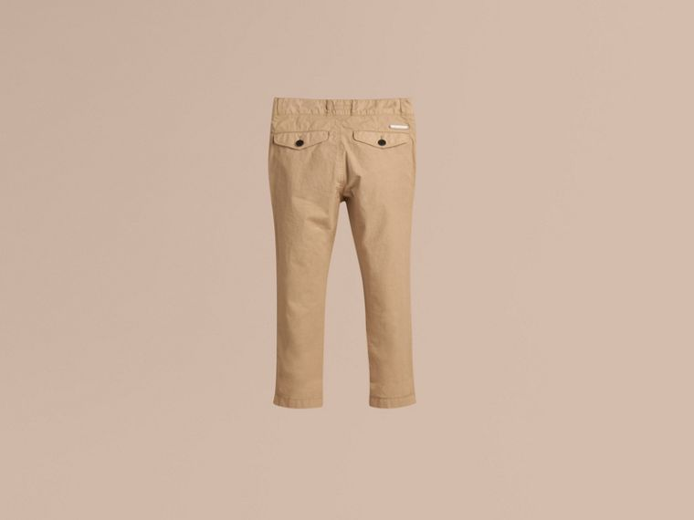 Lightweight Cotton Twill Chinos - cell image 2