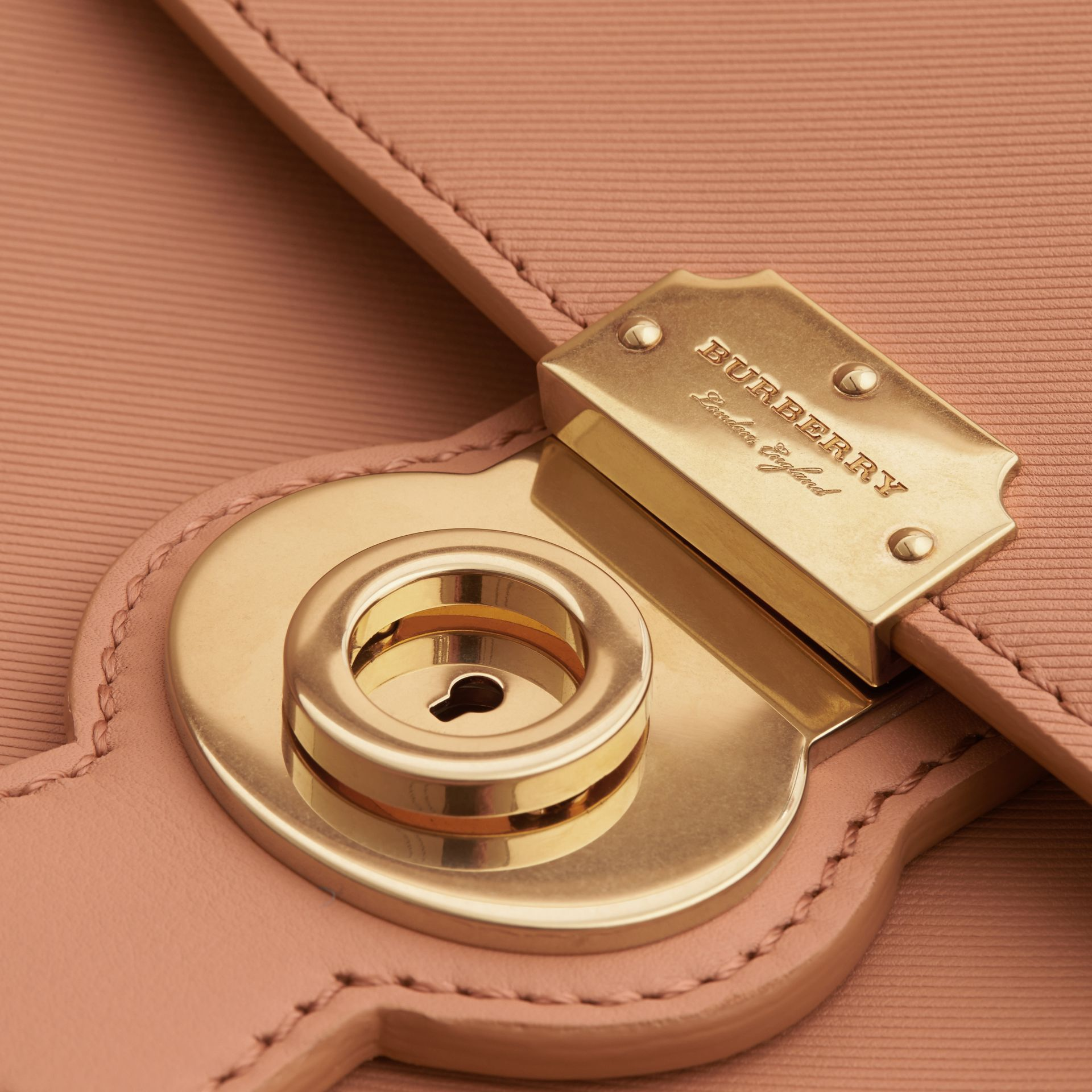 The Large DK88 Top Handle Bag in Pale Clementine - Women | Burberry Australia - gallery image 1