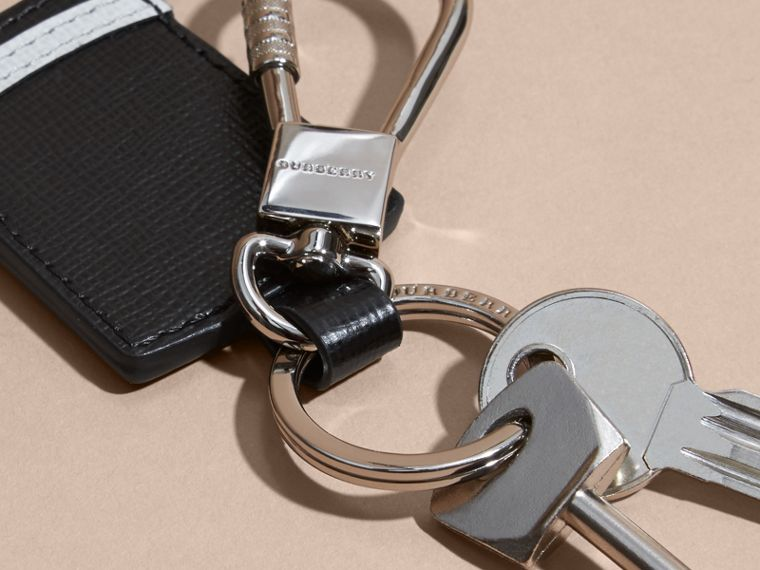 Top Hat Key Ring in Leather - cell image 2