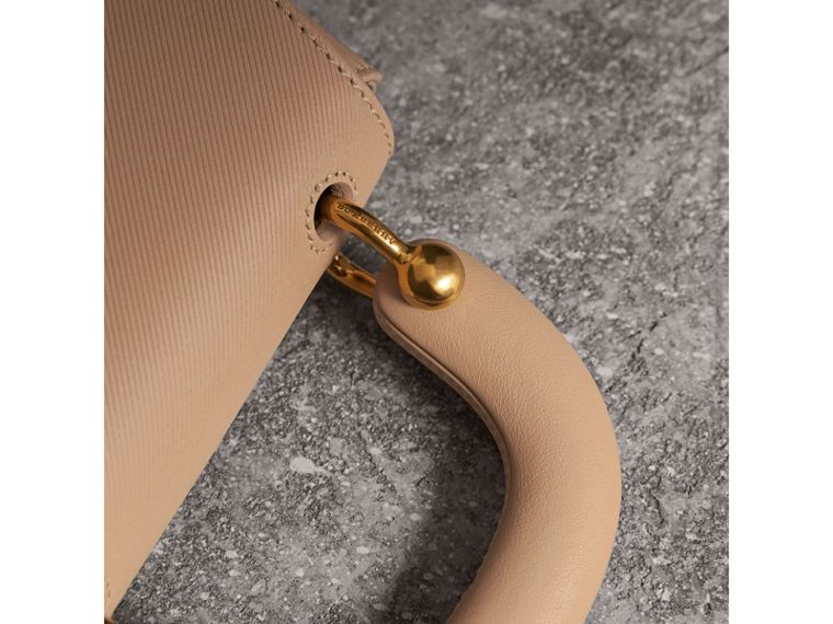 The Mini DK88 Top Handle Bag in Honey - Women | Burberry - cell image 1