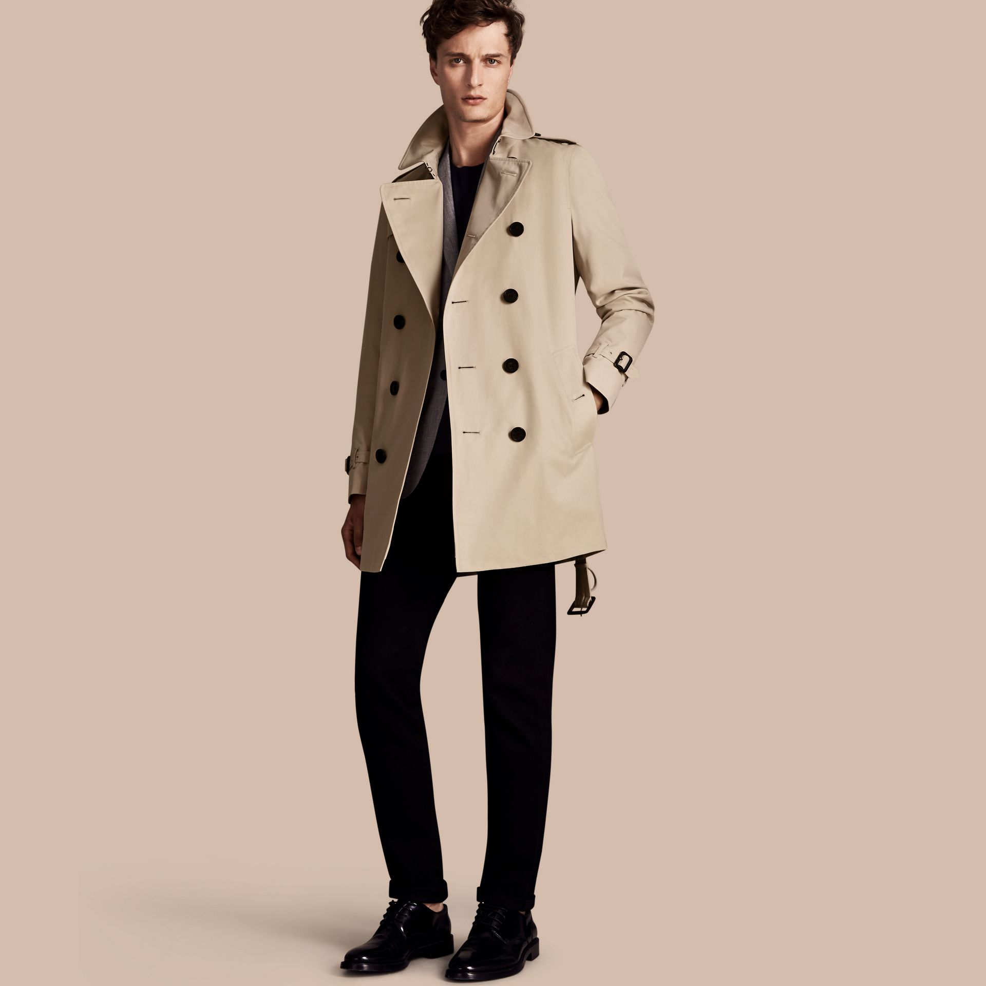Stone The Sandringham – Trench-coat Heritage mi-long Stone - photo de la galerie 1