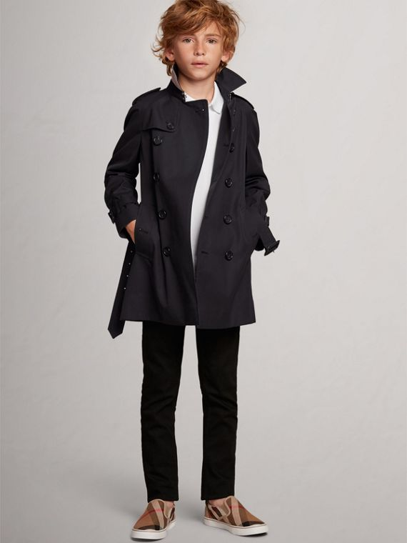 Trench coat Wiltshire - Trench coat Heritage (Azul Marino)
