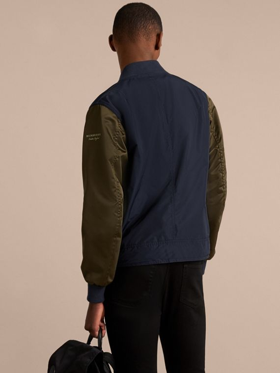 Two-tone Shape-memory Taffeta Bomber Jacket - Men | Burberry - cell image 2