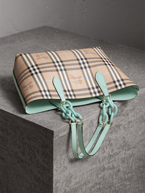 The Small Reversible Tote with Resin Chain - Women | Burberry - cell image 2
