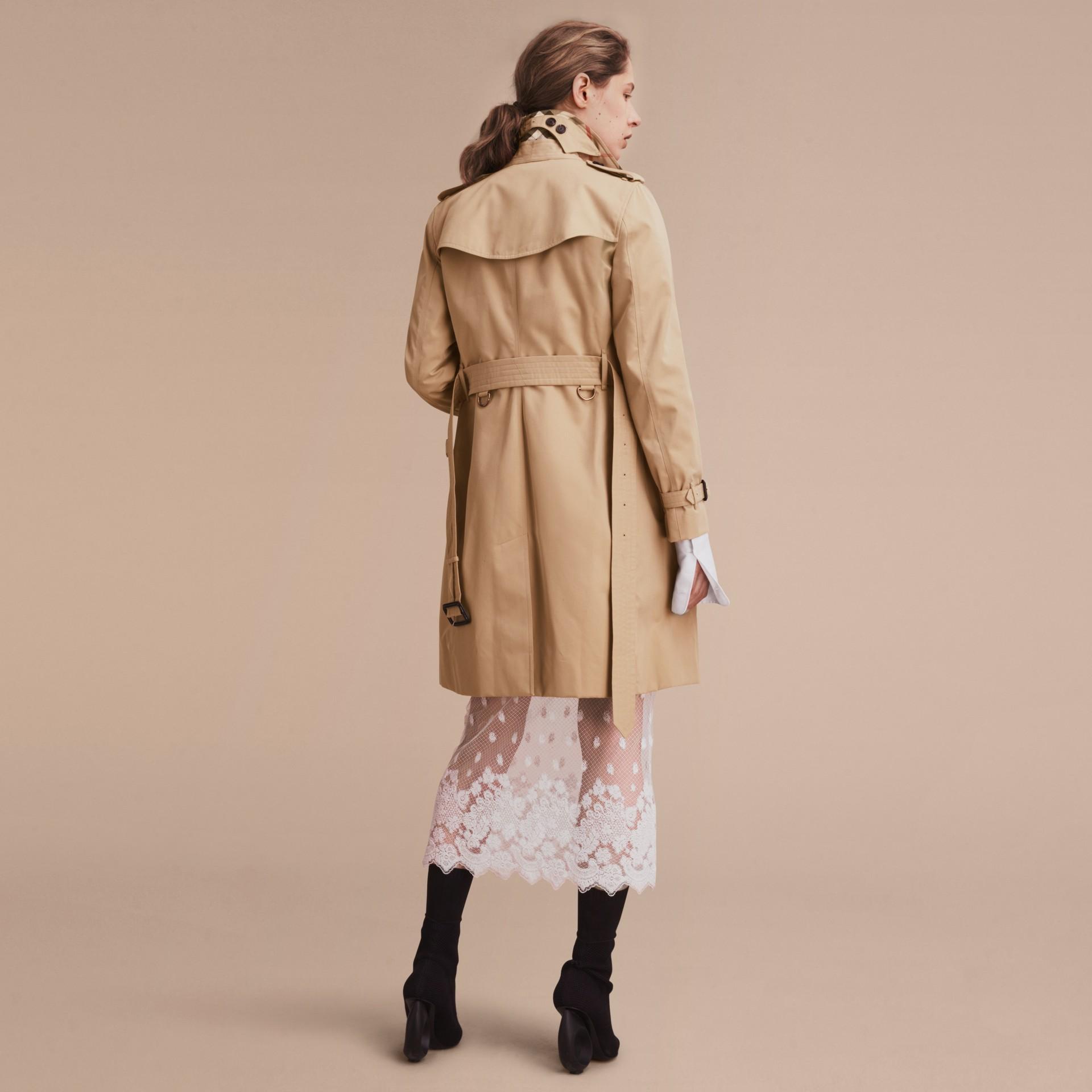 Mel The Kensington - Trench coat Heritage longo Mel - galeria de imagens 4