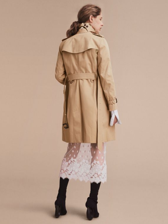 Honey The Kensington – Long Heritage Trench Coat Honey - cell image 3