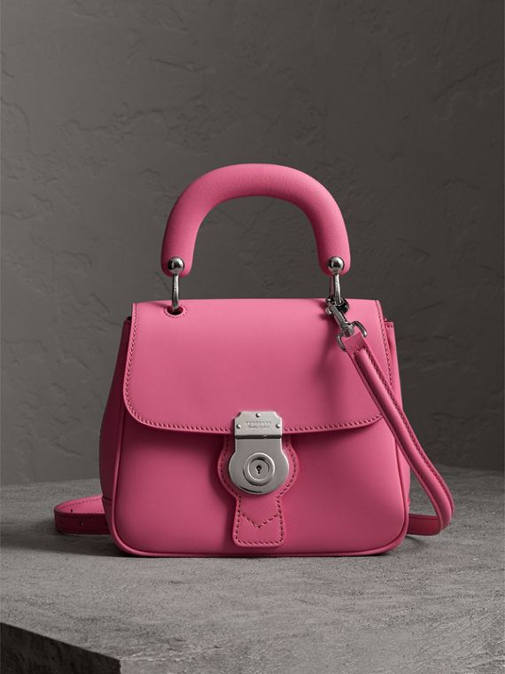 The Small DK88 Top Handle Bag in Rose Pink