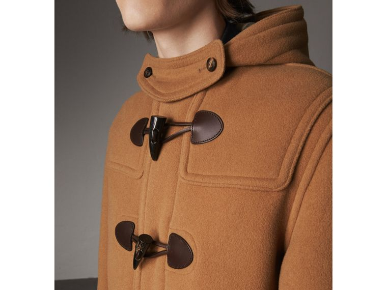 Wool-Blend Duffle Coat in Camel - Men | Burberry - cell image 1