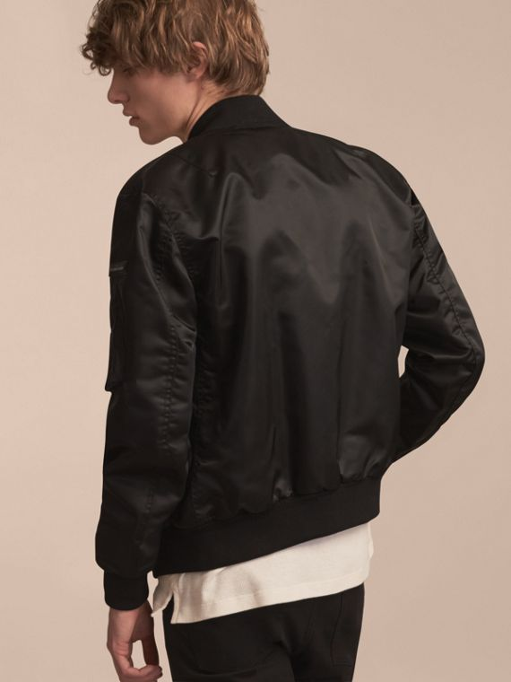 Technical Bomber Jacket Black - cell image 2