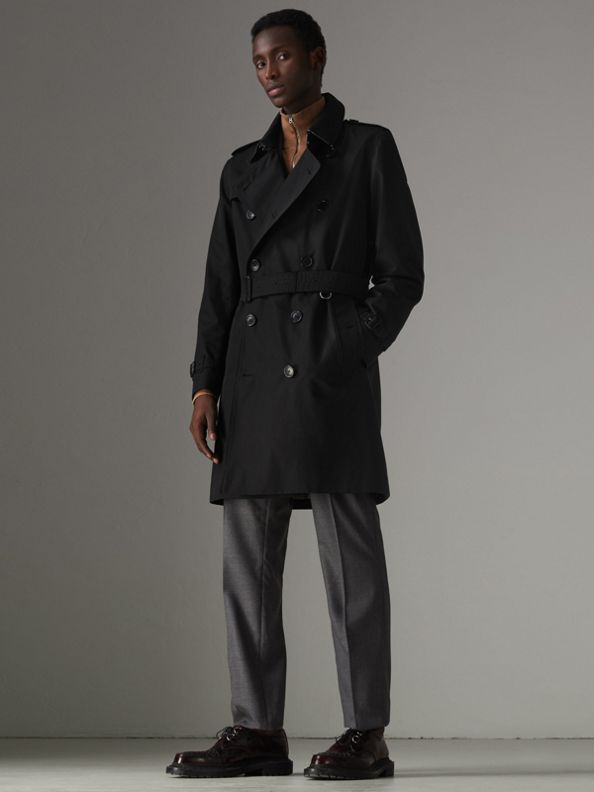 The Kensington - Trench coat Heritage (Preto)