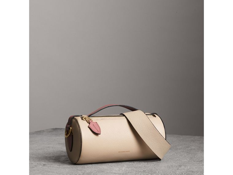 The Barrel Bag aus Leder (Kalksteinfarben/altrosenfarben) - Damen | Burberry - cell image 4