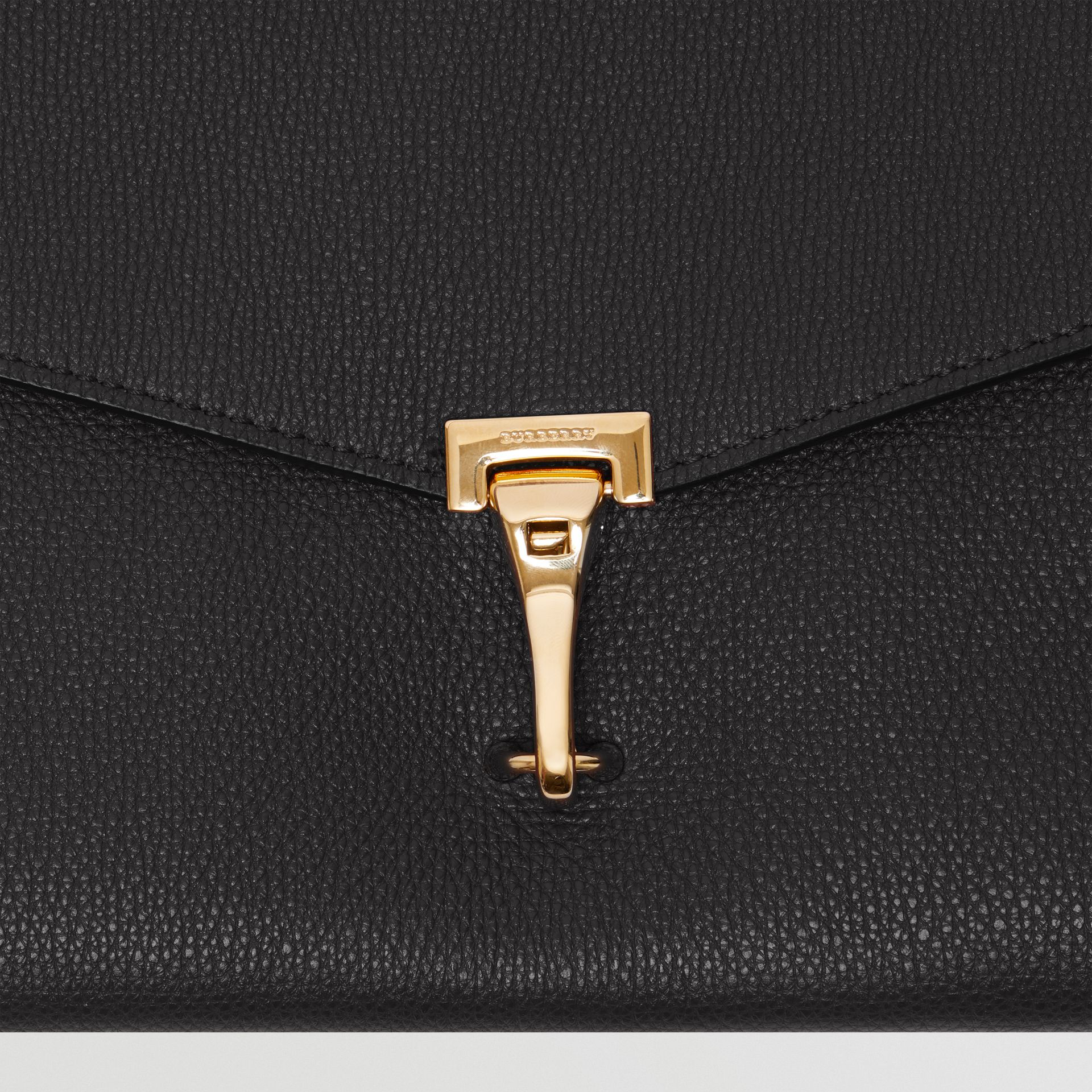 Small Leather Crossbody Bag in Black - Women | Burberry United Kingdom - gallery image 1