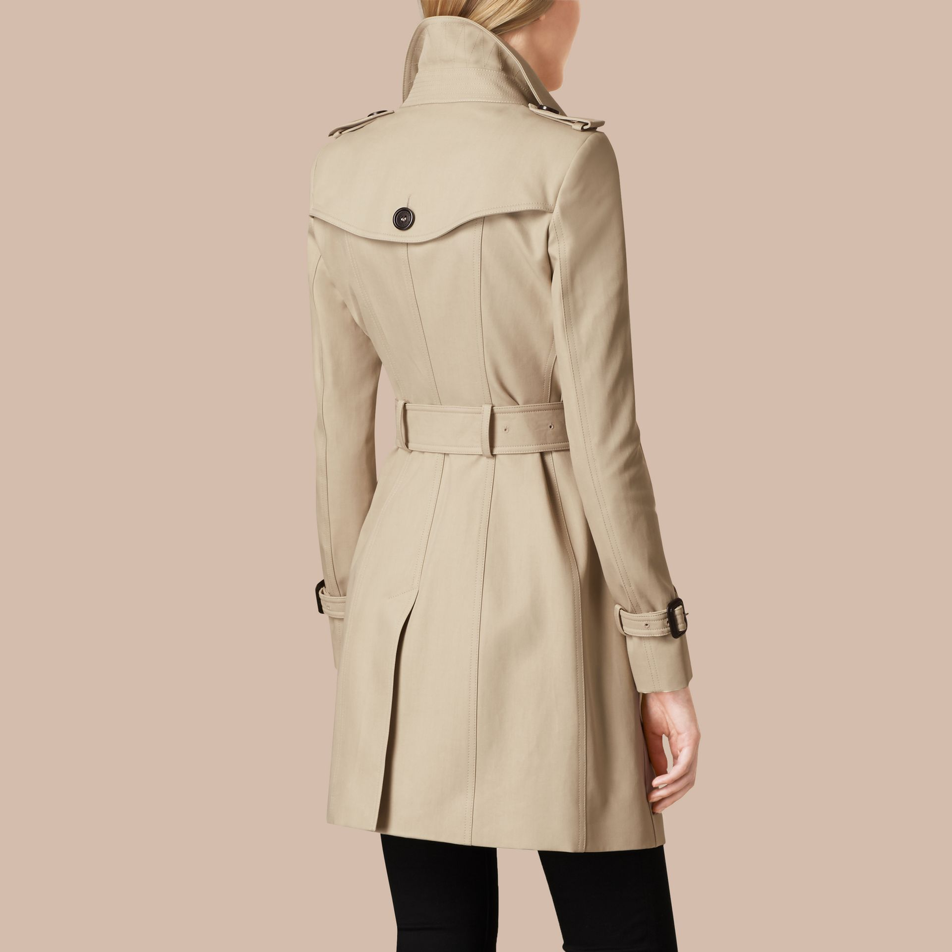Trench Double Cotton Twill Trench Coat - gallery image 3