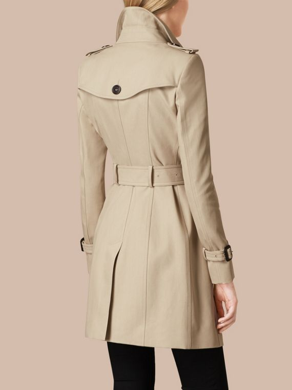 Trench Double Cotton Twill Trench Coat - cell image 2