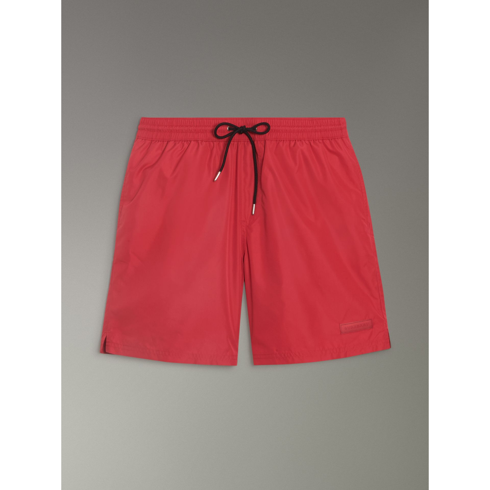 Drawcord Swim Shorts in Parade Red - Men | Burberry United Kingdom - gallery image 3