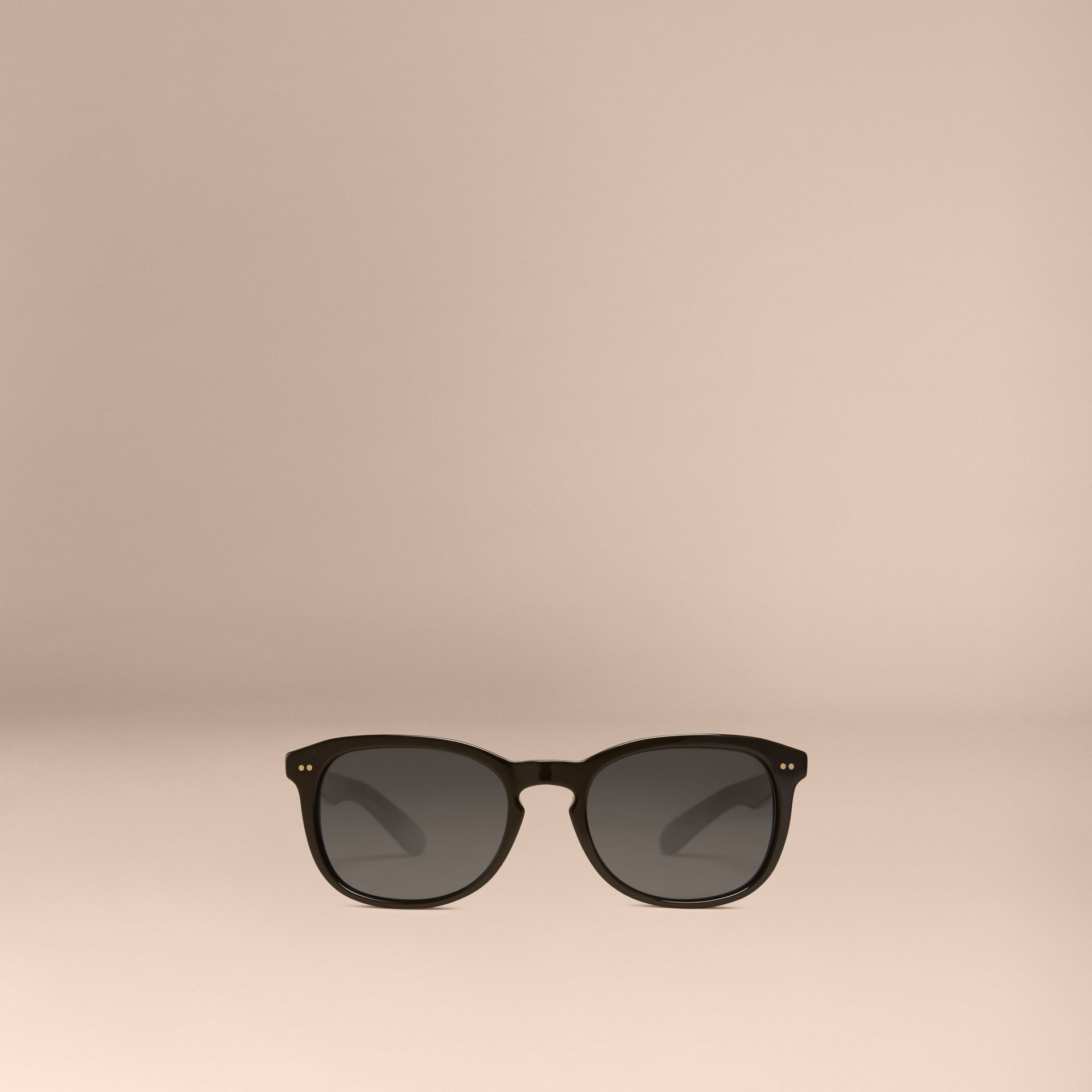 Black Square Frame Sunglasses Black - gallery image 3