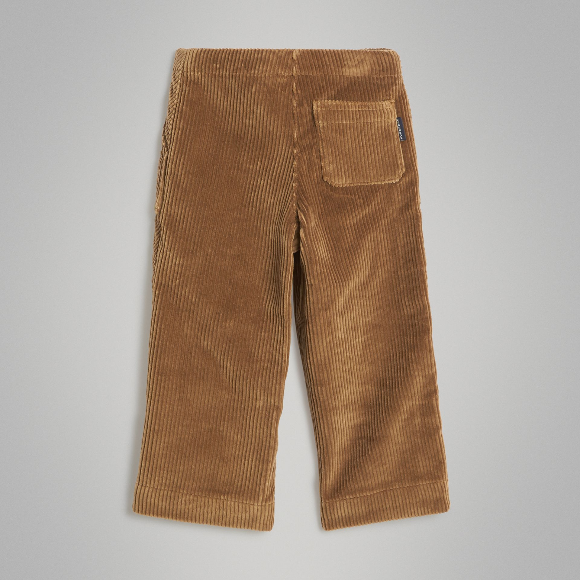 Pantalon ample en velours côtelé (Toffee) | Burberry Canada - photo de la galerie 3