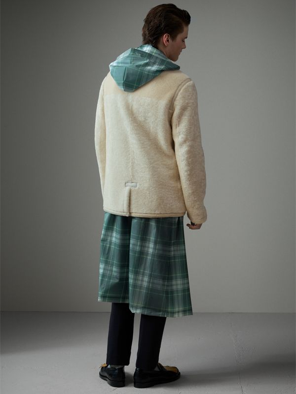 Shearling Jacket in White - Men | Burberry - cell image 2