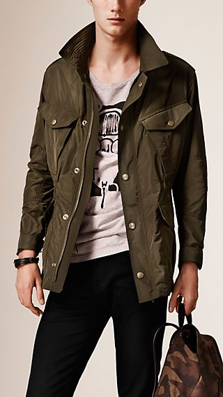 Lightweight Technical Field Jacket