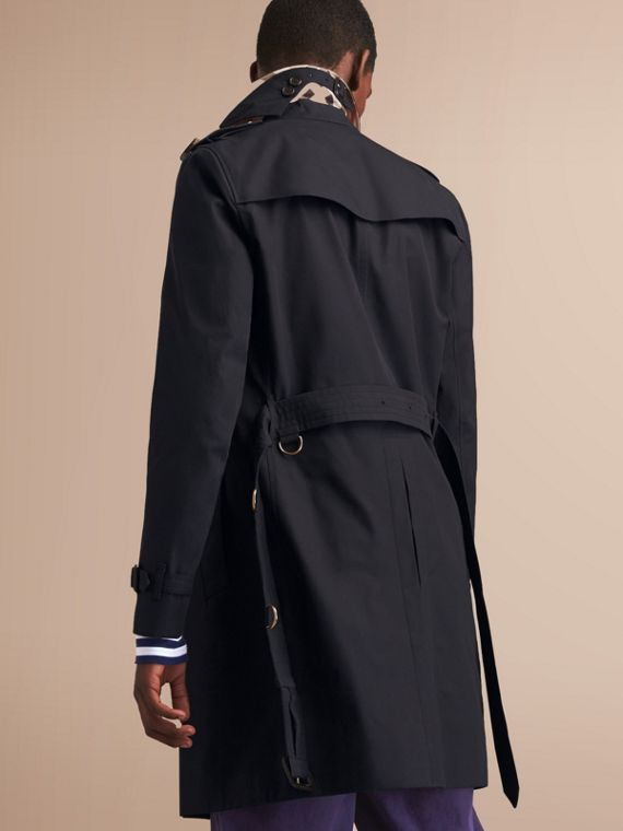 The Chelsea – Long Heritage Trench Coat Navy - cell image 2