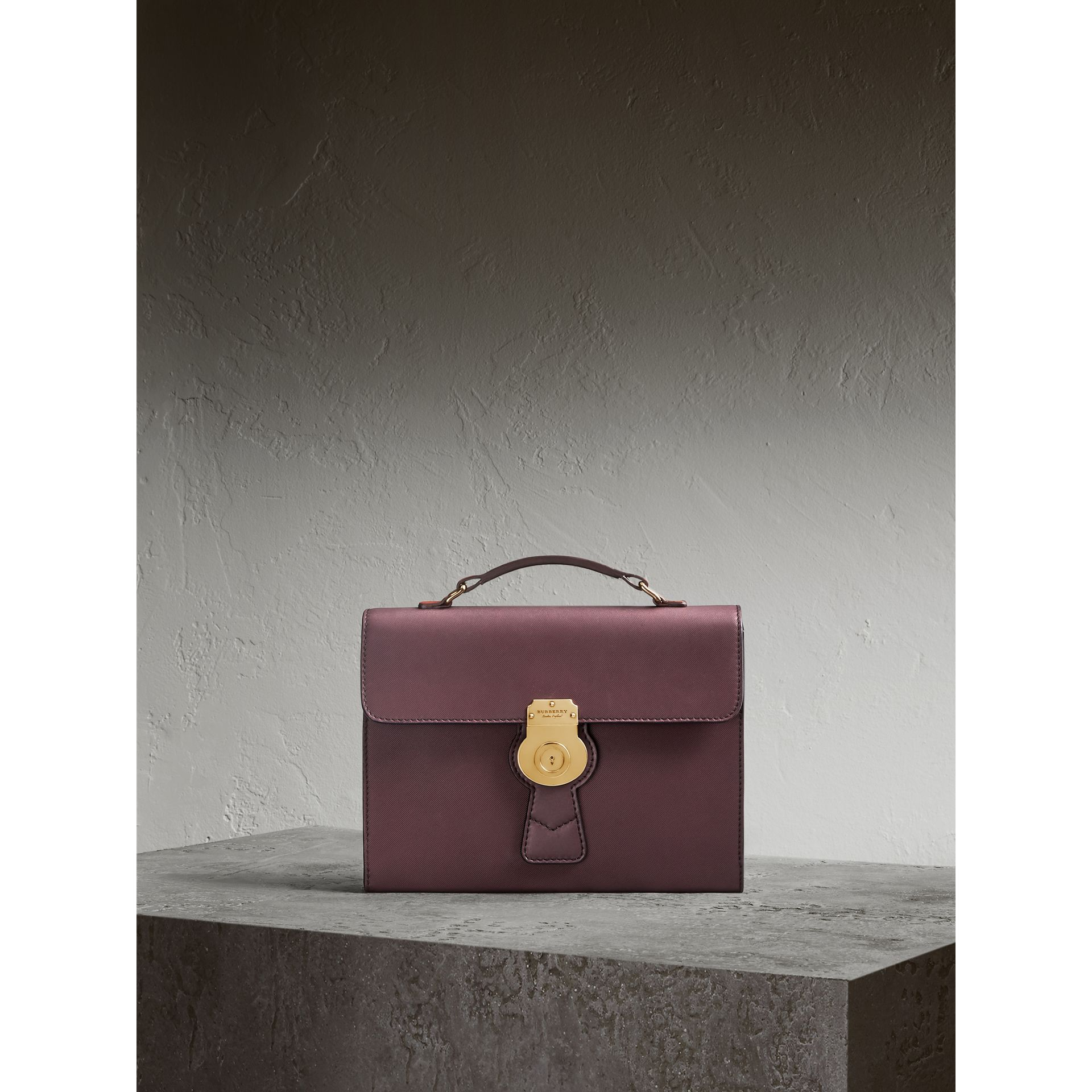 The DK88 Portfolio Case in Wine - Men | Burberry - gallery image 1