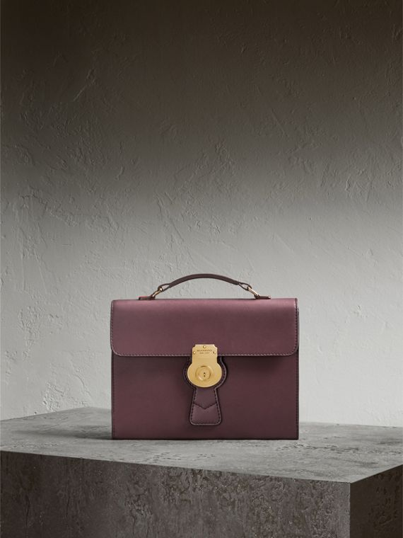The DK88 Document Case in Wine - Men | Burberry