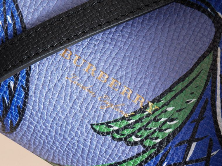 The Small Banner in Beasts Print Leather - Women | Burberry Australia - cell image 1
