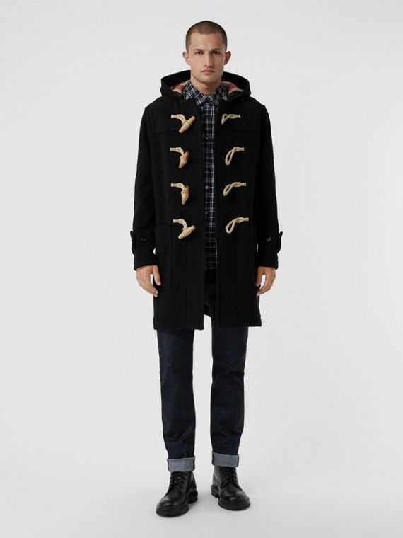 The Greenwich Duffle Coat in Black