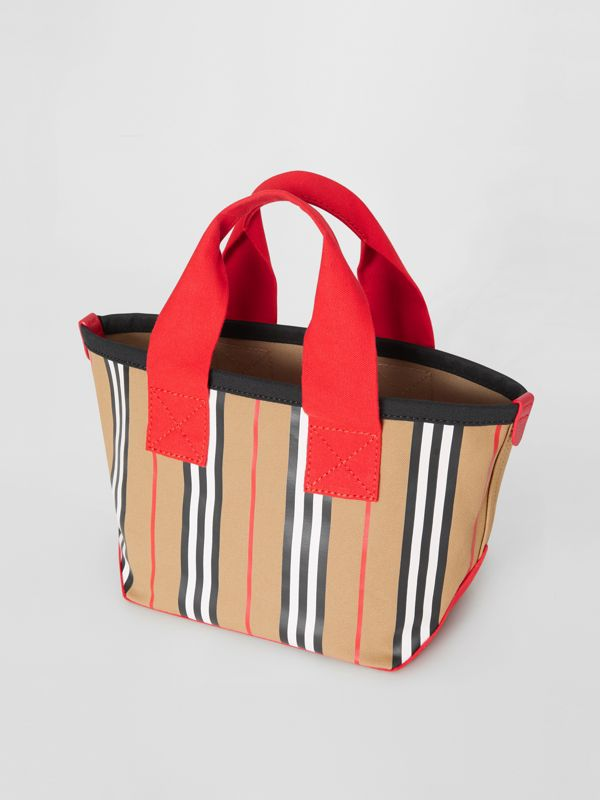 Icon Stripe Cotton Tote Bag in Honey - Children | Burberry Singapore - cell image 2