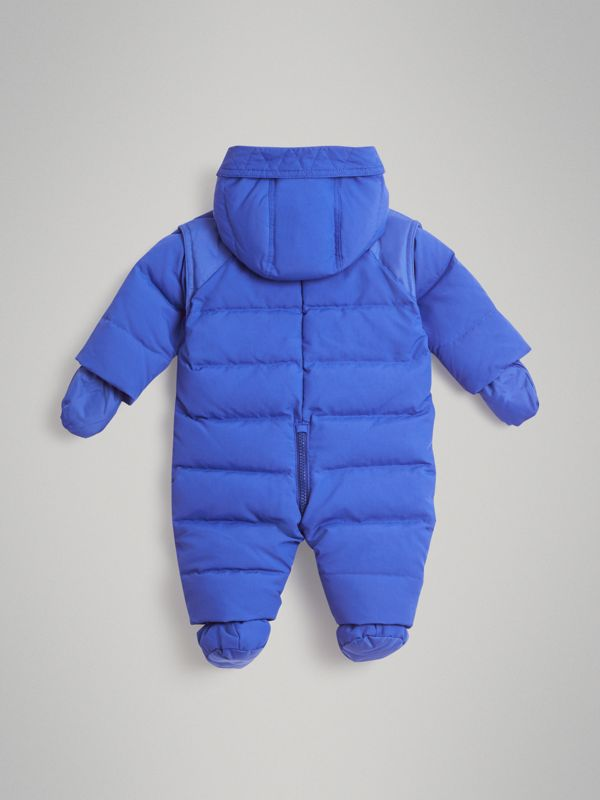 Down-filled Puffer Suit in Royal Blue - Children | Burberry Canada - cell image 3