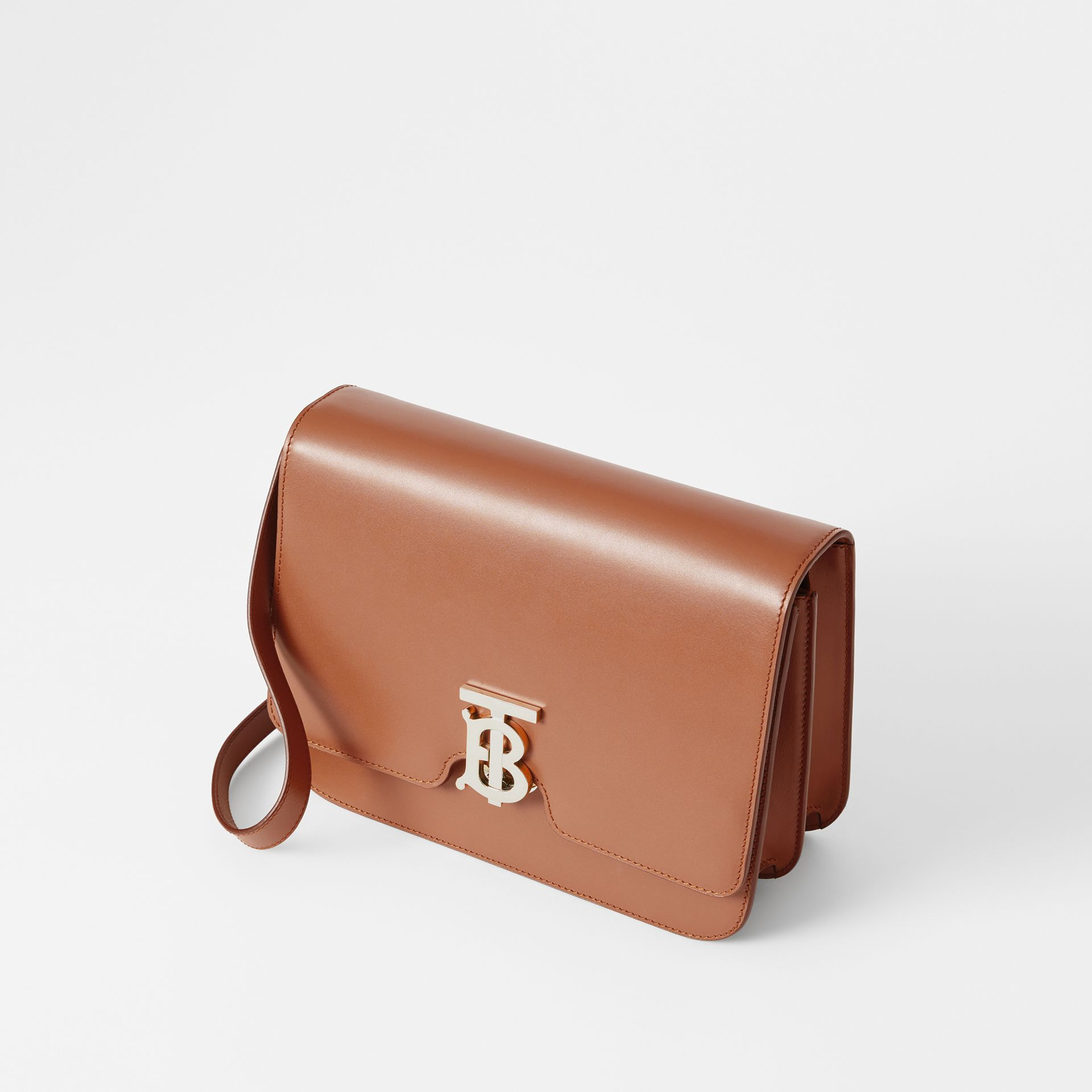 Medium Leather TB Bag in Malt Brown - Women | Burberry Hong Kong - gallery image 3