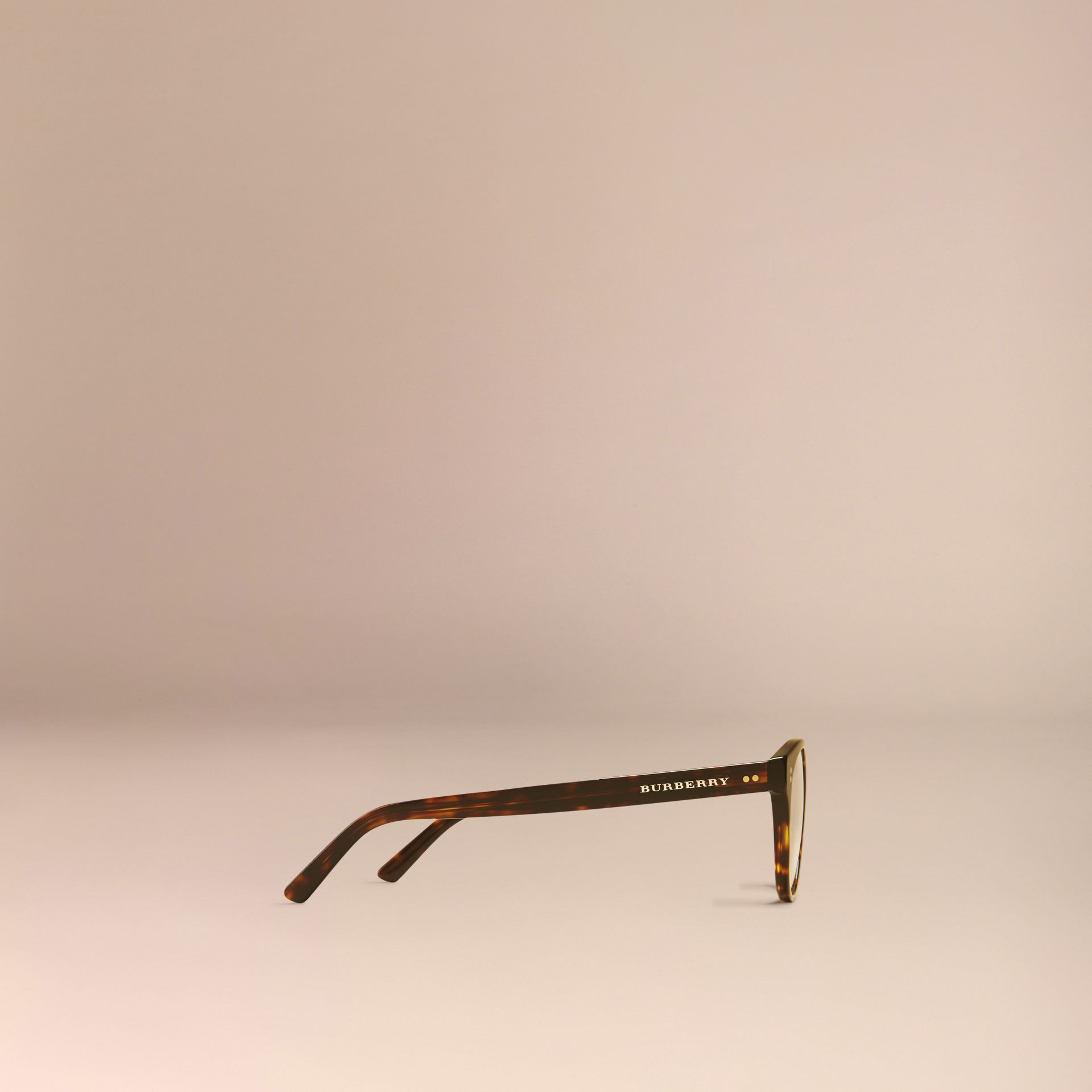 Round Optical Frames in Tortoise Shell - gallery image 5