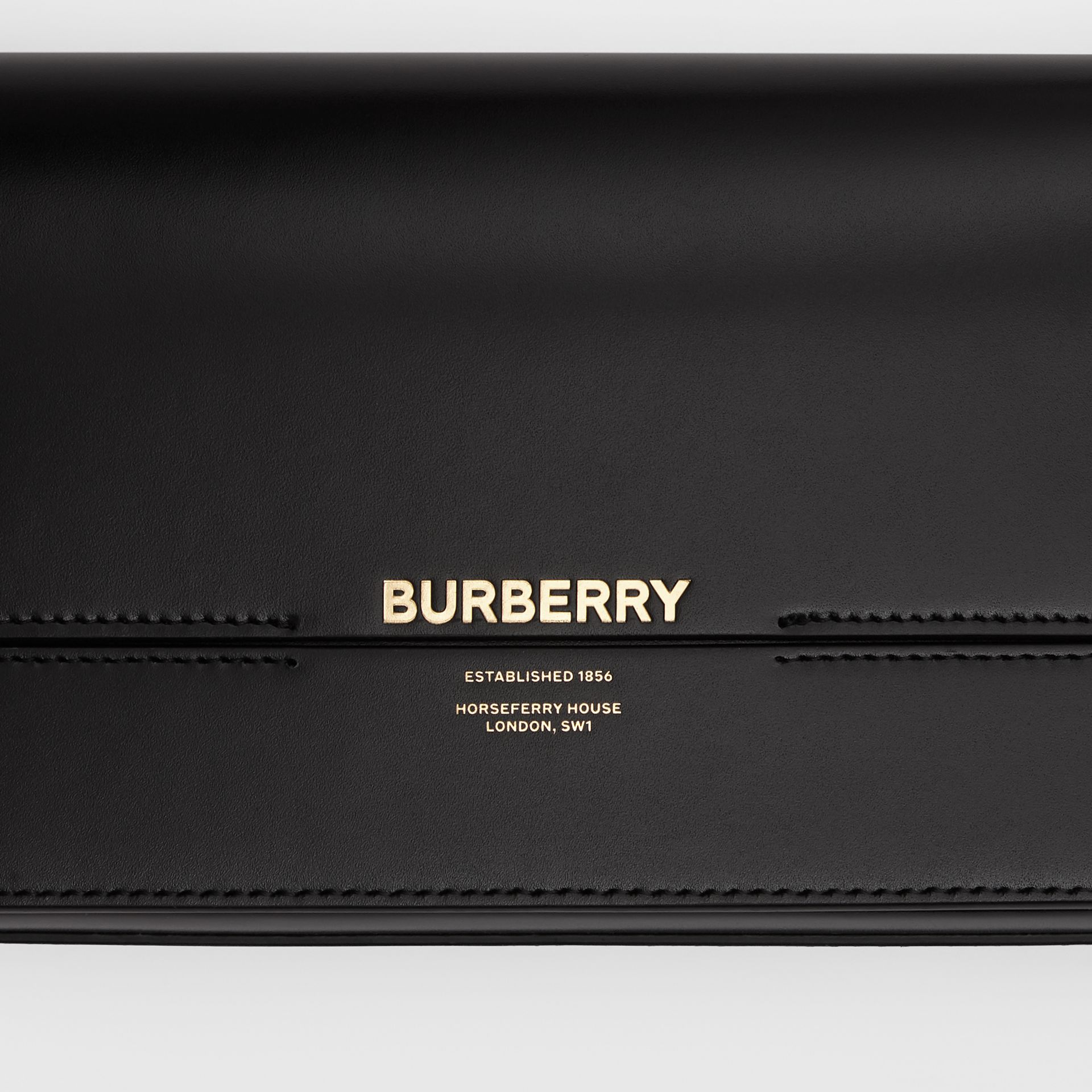 Mini Leather Grace Bag in Black - Women | Burberry - gallery image 1