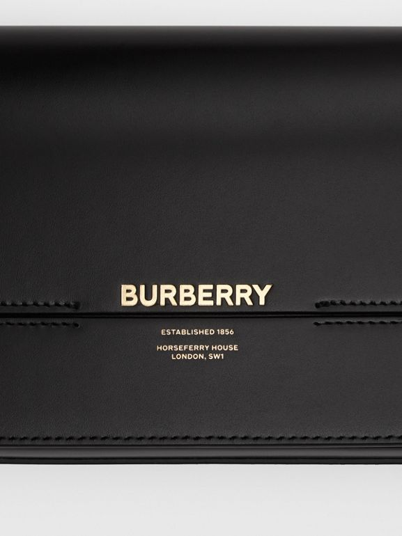 Mini Leather Grace Bag in Black - Women | Burberry - cell image 1