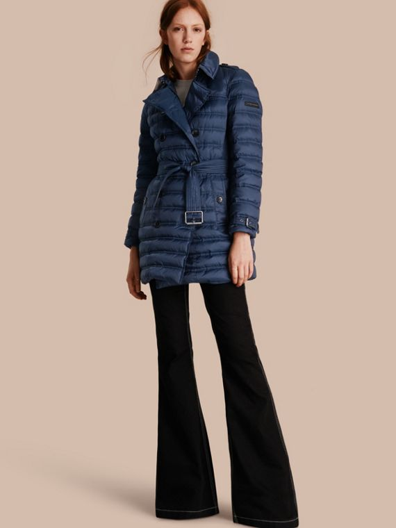 Down-filled Puffer Coat Bright Navy
