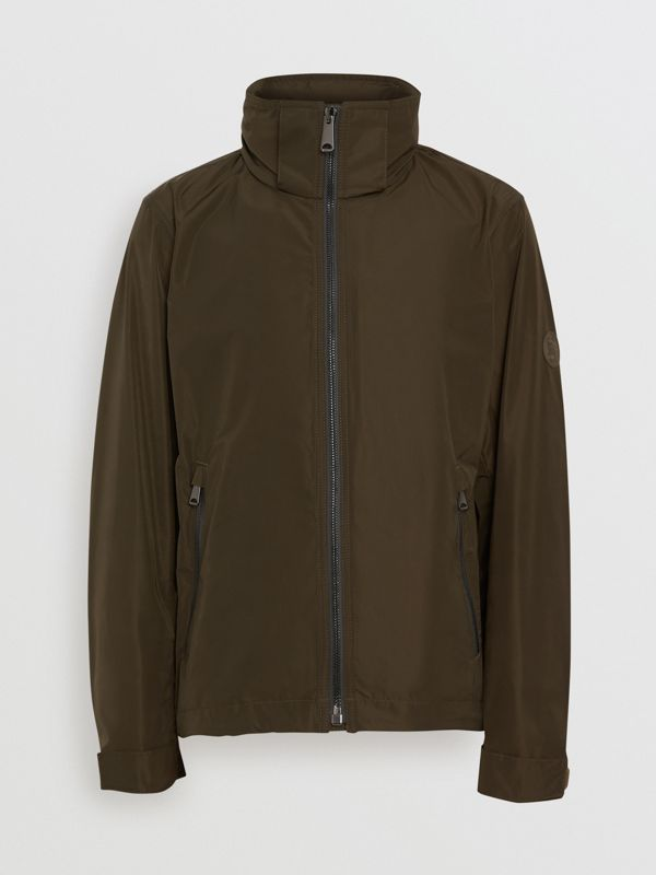 Packaway Hood Shape-memory Taffeta Jacket in Oregano - Men | Burberry - cell image 3