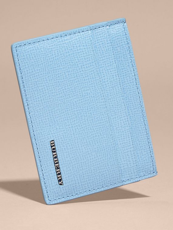 London Leather Card Case Powder Blue - cell image 3