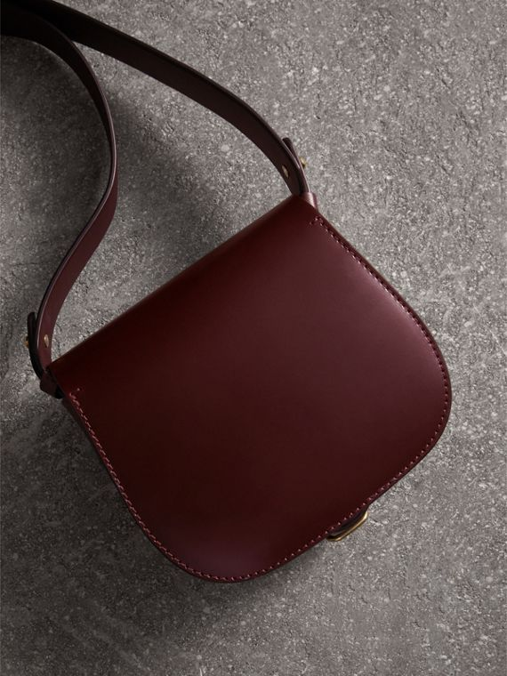 The Satchel in Bridle Leather in Deep Claret - Women | Burberry - cell image 2