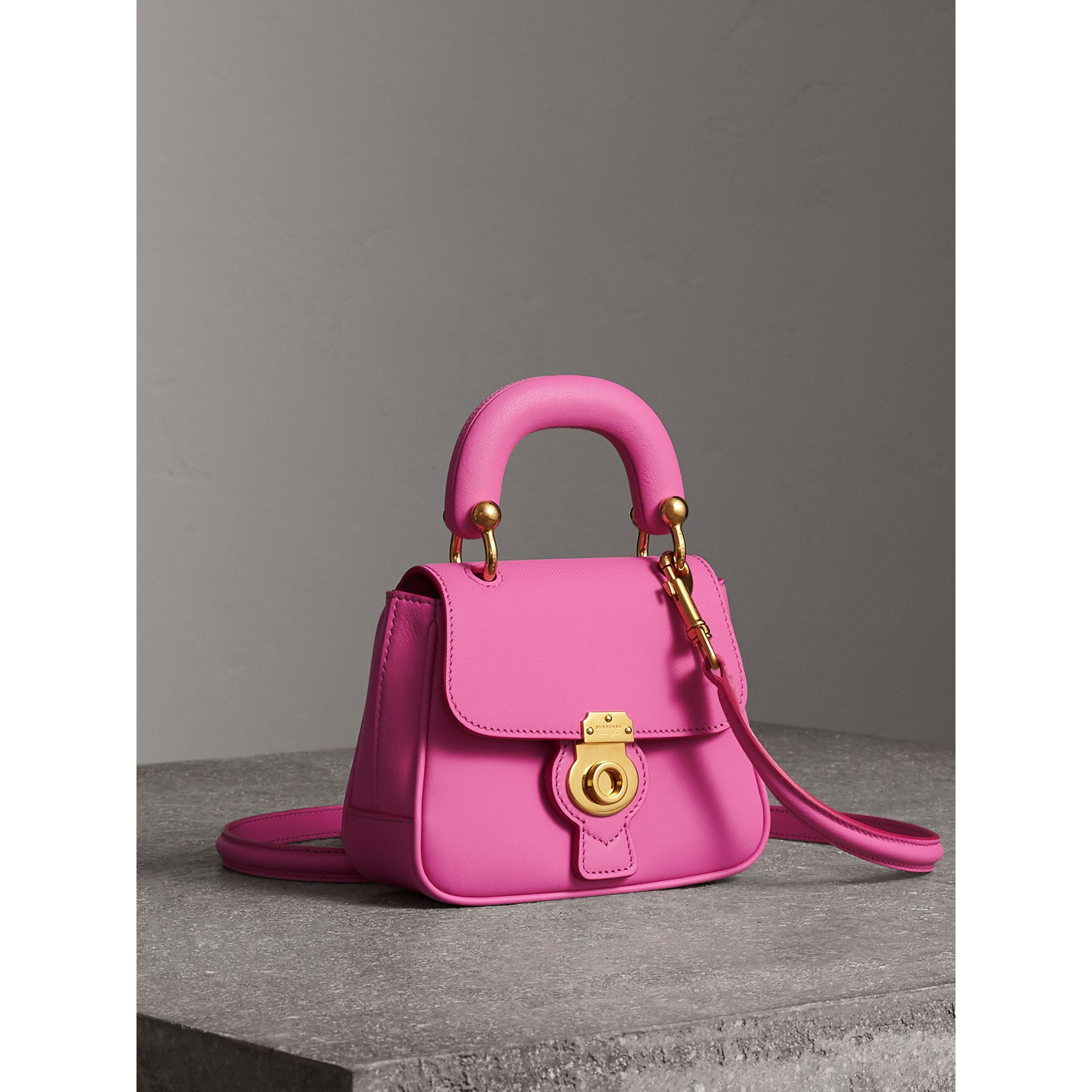 The Mini DK88 Top Handle Bag in Rose Pink - Women | Burberry - gallery image 6