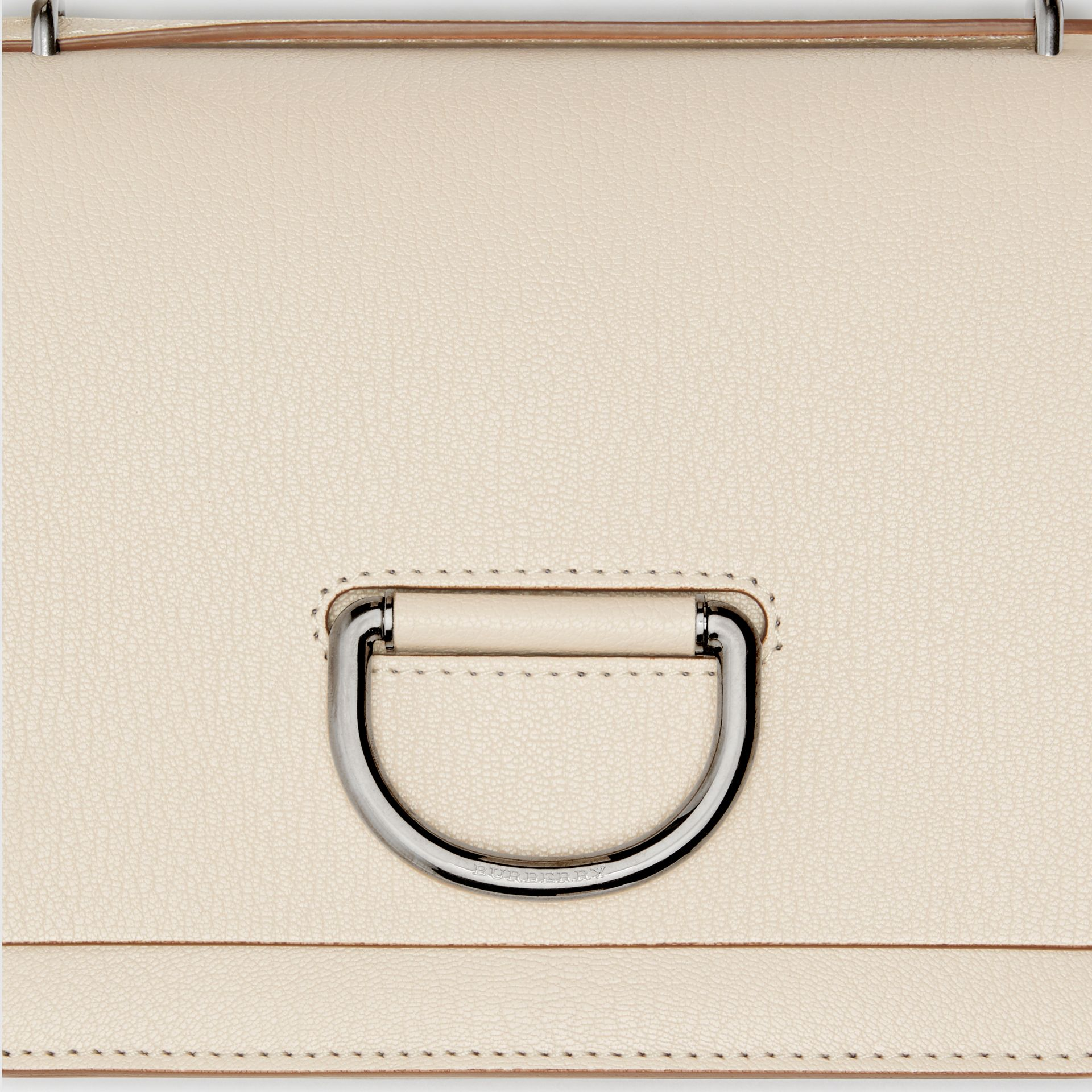 The Small D-Ring Bag aus Leder (Steinfarben) - Damen | Burberry - Galerie-Bild 1