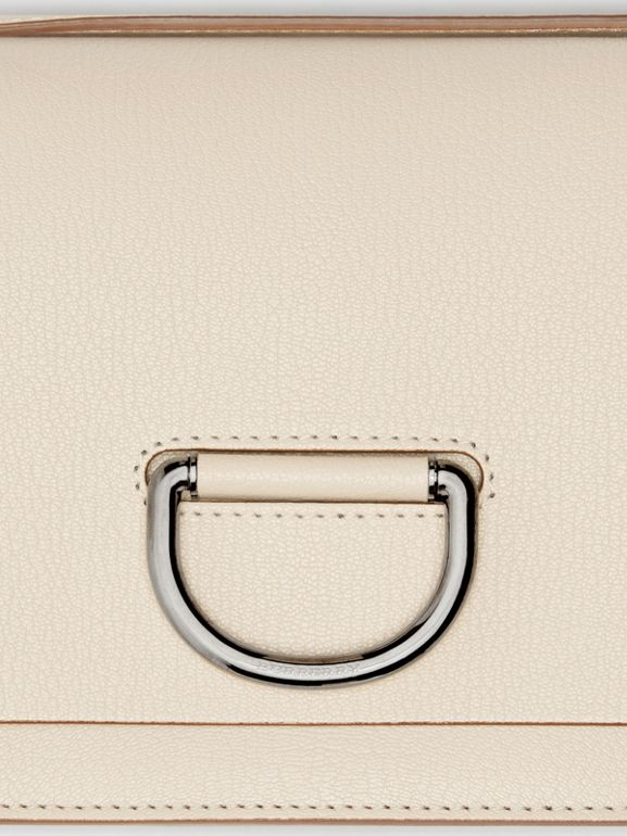 The Small Leather D-ring Bag in Stone - Women | Burberry Canada - cell image 1