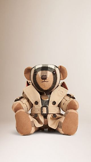 Teddy-bear Mr Trench en cachemire