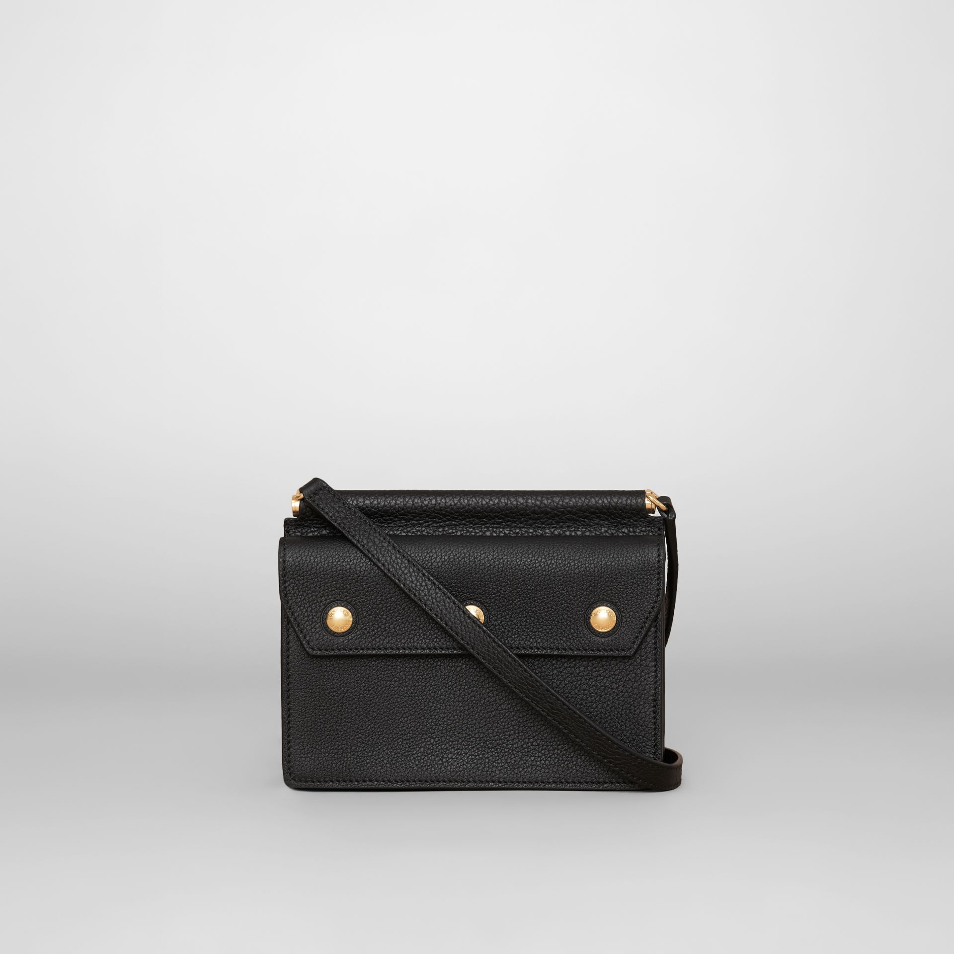 Mini Leather Title Bag in Black - Women | Burberry Hong Kong S.A.R. - gallery image 7