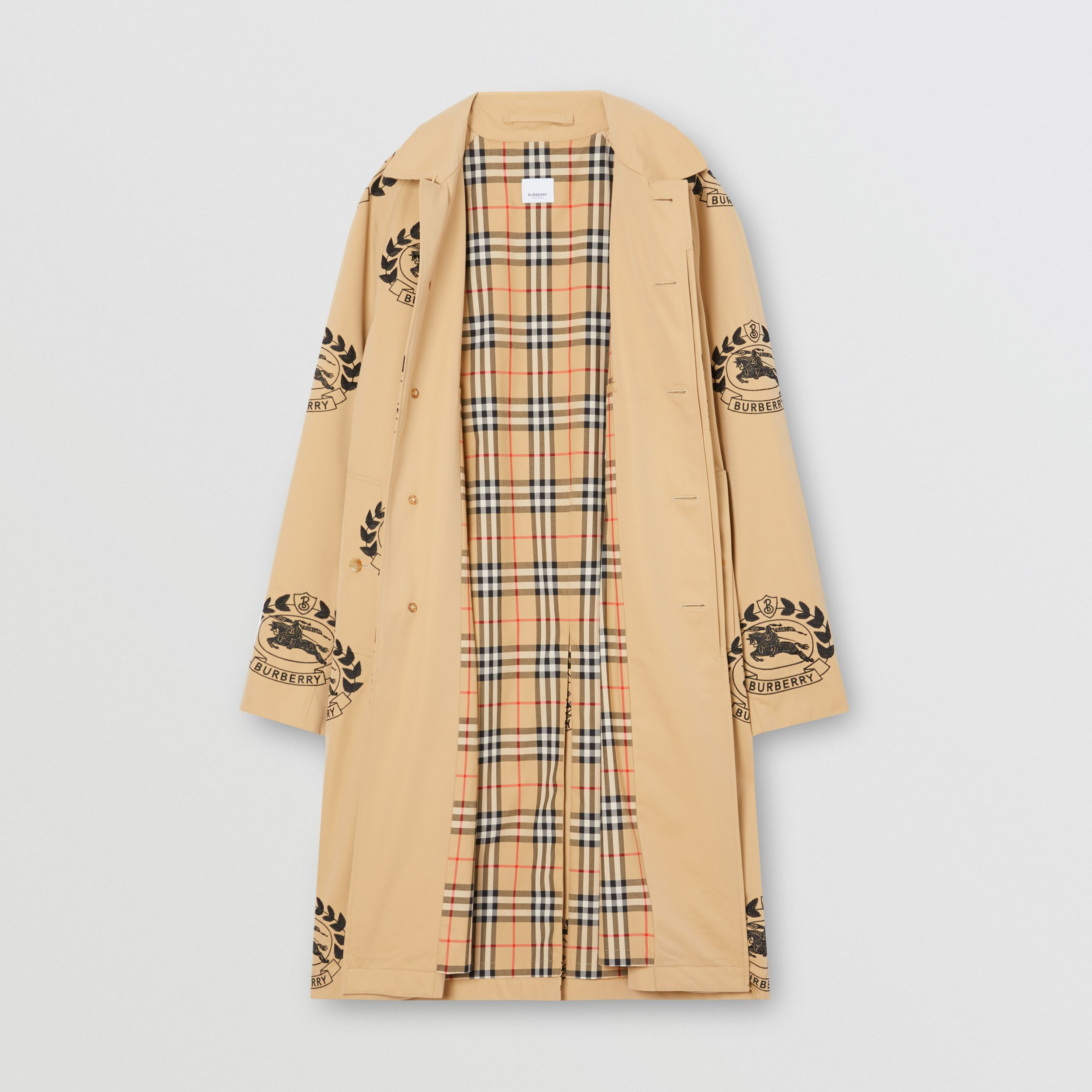 The Pimlico Car Coat in Honey | Burberry - 1